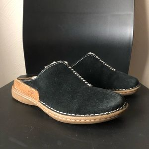 Ugg 5248 black slip on clog mule 4